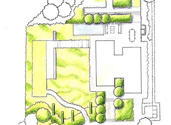 Garden design portfolio paul lehmann garden designer in for Garden house design west sussex